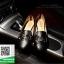 รองเท้าคัชชูหัวกลมสีดำ Loafer shoes (สีดำ ) thumbnail 3