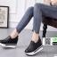 รองเท้าหนัง pu งานเกาหลี 951-ดำ [สีดำ] thumbnail 1