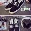 รองเท้าผ้าใบทรงสวมไม่ต้องผูกเชือก 237-BLK [สีดำ] thumbnail 2