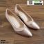 รองเท้าคัชชูส้นสูง TM2384-PKG [สีทองชมพู]