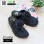 รองเท้าสุขภาพ ฟิทฟลอปหนีบ แต่งดอกไม้ F1080-BLK [สีดำ] thumbnail 3