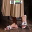 รองเท้าแตะเปิดส้น New hermes sandals SP622-WHI [สีขาว] thumbnail 1