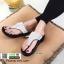 รองเท้าเพื่อสุขภาพ แบบคีบ แต่งเพชร TA104-เงิน [สีเงิน] thumbnail 1