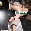รองเท้าส้นเหลี่ยมรัดข้อ 17-2310-BLK [สีดำ] thumbnail 4
