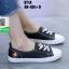 รองเท้าผ้าใบแฟชั่น ST14-BLK [สีBLK] thumbnail 3