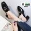 รองเท้าส้นสูงนำเข้าคุณภาพ 0084-ดำ [สีดำ] thumbnail 3