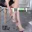 รองเท้าส้นสูงรัดข้อเปิดท้าย 18-1362-PNK [สีชมพู] thumbnail 4