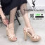 รองเท้าส้นสูง สไตล์แบรนด์เนม 3006-35-PINK [สีชมพู] thumbnail 2