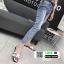 รองเท้าแตะเปิดส้น New hermes sandals SP622-WHI [สีขาว] thumbnail 5