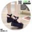 รองเท้าทรงเตารีดแบบรัดข้อ ST9-BLK [สีดำ] thumbnail 4