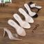 รองเท้าส้นสูงแบบสวม 18-1361-PNK [สีชมพู] thumbnail 3