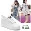 รองเท้าผ้าใบสปอร์ท หนัง pu SG-136-WHT [สีขาว] thumbnail 4