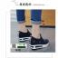 รองเท้าผ้าใบเสริมส้นนำเข้า สไตล์เกาหลี B38-BLACK [สีดำ] thumbnail 4