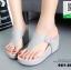 รองเท้าเตารีดเปิดส้นสีเทา หูคีบ (สีเทา ) thumbnail 3