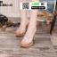 รองเท้าส้นสูงแบบสวม 099-WHI [สีขาว] thumbnail 2