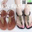 รองเท้าแตะ หูหนีบ ipomoea G-1280-BLK [สีดำ] thumbnail 4
