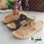รองเท้าแตะ สไตล์วินเทจ 5943-BROWN [สีน้ำตาล] thumbnail 2