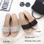 รองเท้าเตารีด แบบสวมหน้าวิ้ง 15-7699-ดำ [สีดำ] thumbnail 3