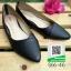 รองเท้าคัทชูส้นเตี้ยสีดำ หัวแหลม Flat Shoes (สีดำ ) thumbnail 1