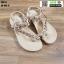 รองเท้าแตะลำลองรัดส้น 1017-4-CRM [สีครีม] thumbnail 1