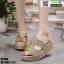 รองเท้าสวมส้นเตารีด ST998-GLD [สีทอง] thumbnail 1