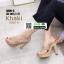 รองเท้าส้นสูงแบบสวม 3006-5-KHA [สีกากี] thumbnail 2