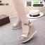 รองเท้ารัดข้อเปิดท้ายส้นเตารีด ST011-GLD [สีทอง] thumbnail 2