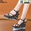 รองเท้าเปิดส้นรัดข้อส้นเตารีด ST11-BLK [สีดำ] thumbnail 2