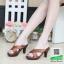รองเท้าส้นสูงแบบสวม PF2304-BWN [สีน้ำตาล] thumbnail 1