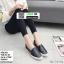 รองเท้าผ้าใบสวมปักงานสไตล์แบรนด์ดัง 202-BLK [สีดำ] thumbnail 1
