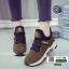 รองเท้าผ้าใบสไตล์เกาหลี 0023-BROWN [สีน้ำตาล] thumbnail 2