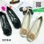 รองเท้าคัทชูเสริมส้นสีดำ พื้นบุนวมนุ่ม (สีดำ ) thumbnail 4