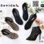 รองเท้าส้นสูงเปิดหน้าหุ้มส้น 17-2322-CRM [สีครีม] thumbnail 4