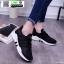 รองเท้าผ้าใบแฟชั่นงานผ้า 1730B6-BLK [สีดำ] thumbnail 1