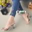 รองเท้าส้นสูง ส้นแก้ว 1848-GLD [สีทอง] thumbnail 2