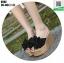 รองเท้าแบบสวมส้นเตารีด ST02-BLK [สีดำ] thumbnail 2