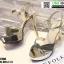 รองเท้าส้นสูงรัดข้อเปิดท้าย ST208-GLD [สีทอง] thumbnail 5
