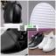 รองเท้าผ้าใบสปอร์ท หนัง pu SG-136-BLK [สีดำ] thumbnail 3