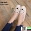 รองเท้าผ้าใบแคนวาส งานปักน่ารัก L-345-380-APR [สีแอปริคอท] thumbnail 1