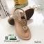 รองเท้าแตะพื้นนิ่มรัดส้น B1817-1-ครีม [สีครีม] thumbnail 4