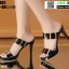 รองเท้าส้นสูง งานนำเข้า 100% ST003-BLK [สีดำ] thumbnail 3