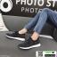 รองเท้าผ้าใบแฟชั่นงานผ้าจ้าา W88065-BLK [สีดำ] thumbnail 3