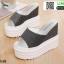 รองเท้าแบบสวมทรงเตารีด ST986-BLK [สีดำ] thumbnail 5