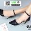 ส้นสูงรัดข้อ B13-507-BLK [สีดำ] thumbnail 2