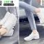 รองเท้าผ้าใบแบบสวม L09-WHI [สีขาว] thumbnail 3