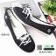 รองเท้าผ้าใบทรงสปอร์ตน่ารักๆ 1435-BLACK [สีดำ ] thumbnail 1