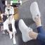 รองเท้าผ้าใบผ้าตาข่ายมีรูระบายอากาศ M27-WHI [สีขาว] thumbnail 2