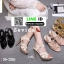 รองเท้าส้นสูงสไตล์YSL 18-1326-PNK [สีชมพู] thumbnail 4