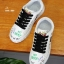 รองเท้าผ้าใบ หนัง PU Flashion-White 9201 [สีขาว] thumbnail 4