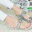 รองเท้าแตะแฟชั่นสีขาว Flowery Sandals (สีขาว ) thumbnail 2